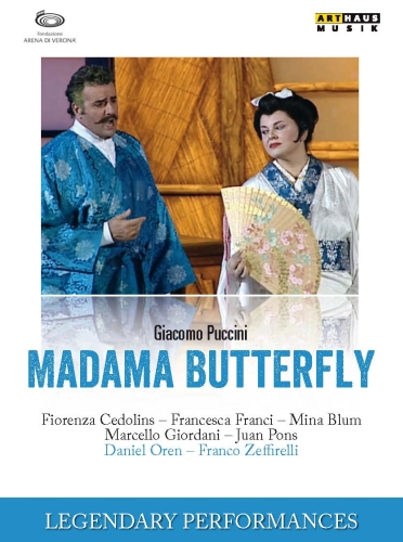 DVD Madama Butterfly (2004)