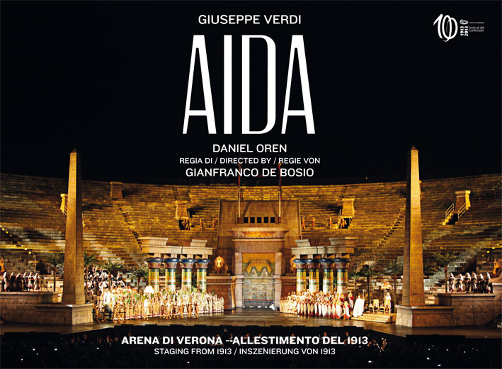 DVD AIDA Commemoration 1913