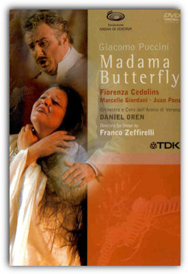 DVD Madama Butterfly