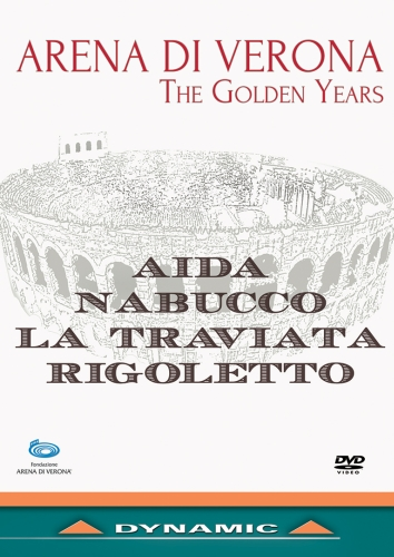 "DVD ""The Golden Years"" ARENA DI VERONA"