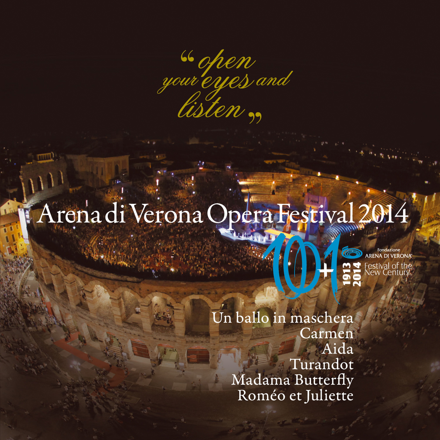Official CD 92� Festival Arena di Verona 2014
